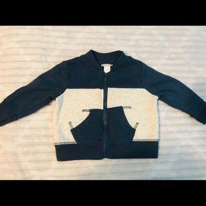 5/$20 3-6 month Cat & Jack crew sweatshirt blue